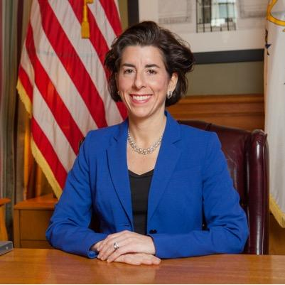 Governor Gina Raimondo via Twitter
