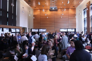 """Over 100 judges from the Seattle """"entrecommunity"""" and health science industry voted to choose the winners, and gave teams feedback on their work. Photo by Clare McGrane"""