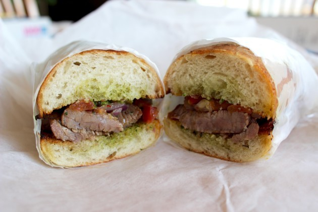 The Santa Maria Tri Tip Sandwich From Martino S Delivered By Uber I Enjoyed It