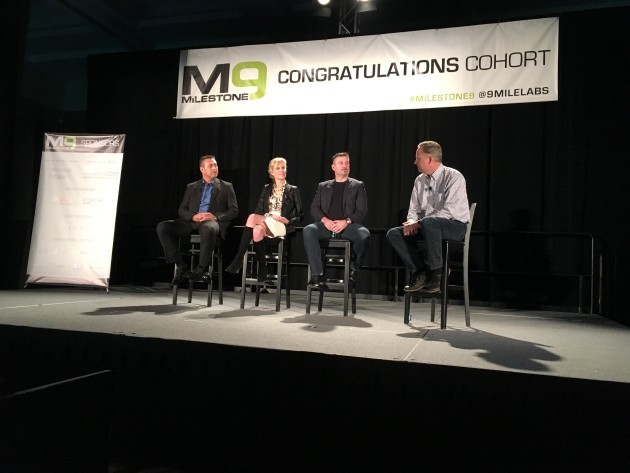 The new advisory board for 9Mile Labs at the Milestone 9 event in Seattle