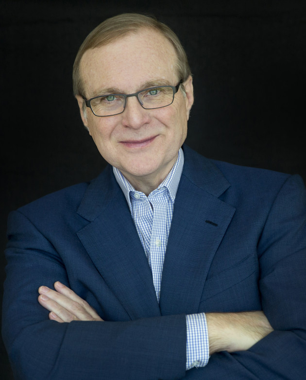 Paul G. Allen. Photo by Beatrice de Gea. Courtesy of Vulcan Inc.
