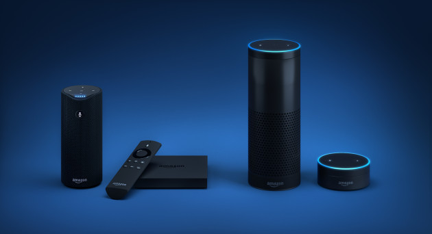 The Alexa family of voice-activated products
