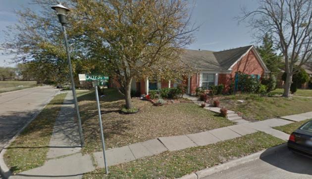 7601 Calypso Drive before it was demolished. Image via GoogleMaps.