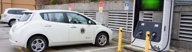 Seattle EV charging
