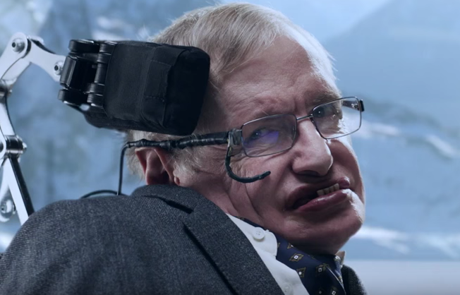 Nice Stephen Hawking Stars As A Villain In New Jaguar Ad, Jokes About Time,  Space, Gravity U2013 GeekWire