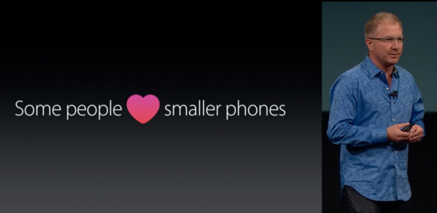 iphone people love small phone