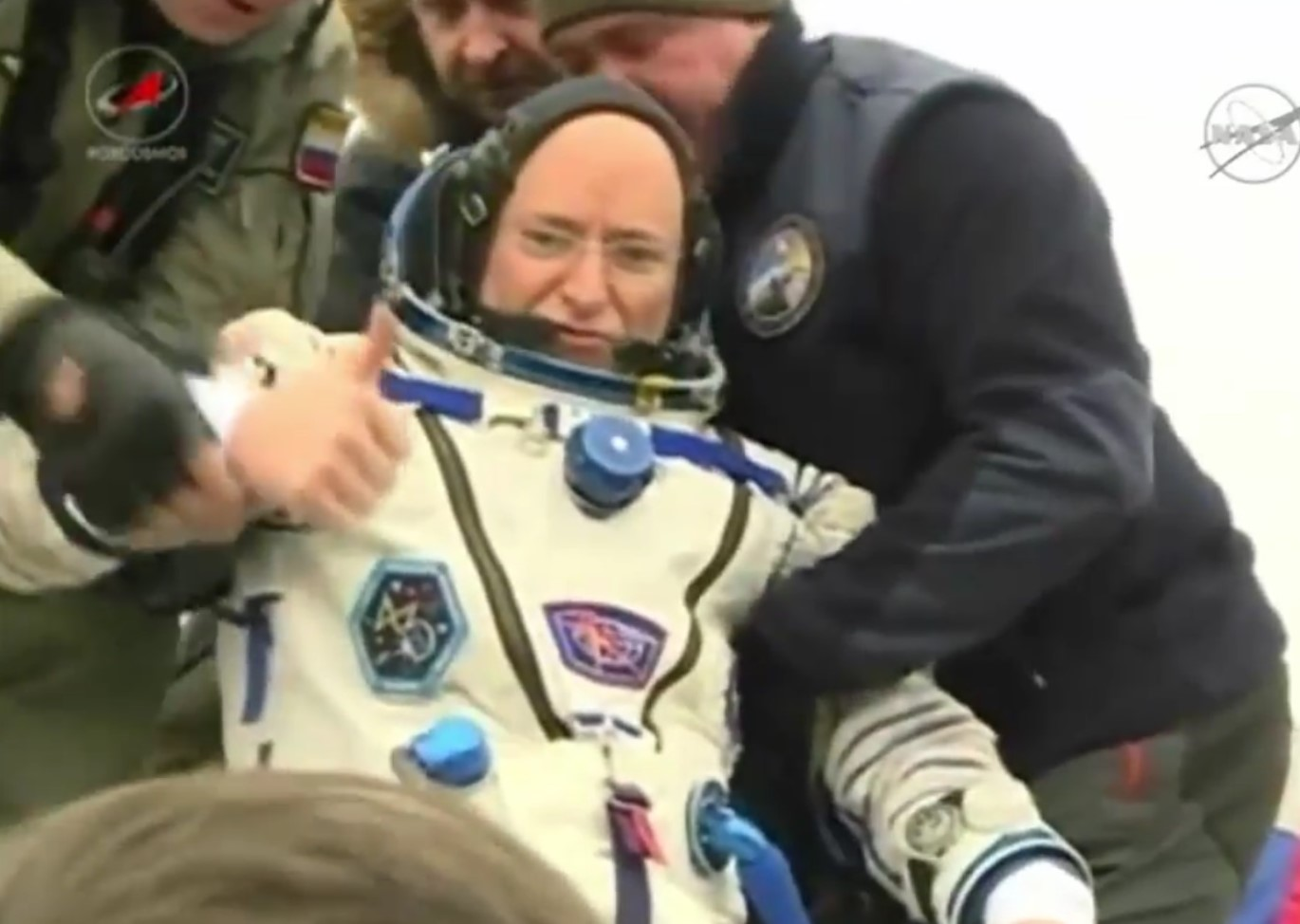 astronaut returns after one year in space - photo #37