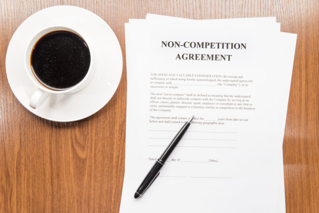 Non compete agreements are perceived by some as bad for business. Photo via Shutterstock.