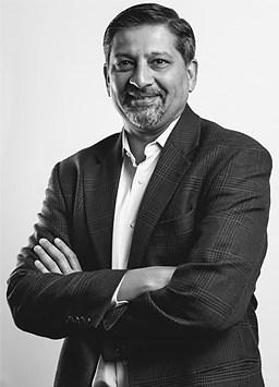 Samir Bodas, CEO of Icertis. (Image via Icertis.)