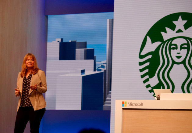 Starbucks in your email: Coffee giant working on Microsoft