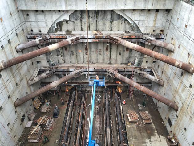 SR 99 tunnel
