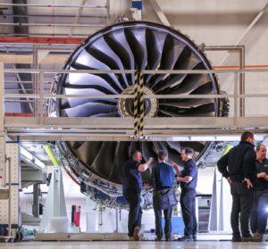 Image: Internet of Things jet engine