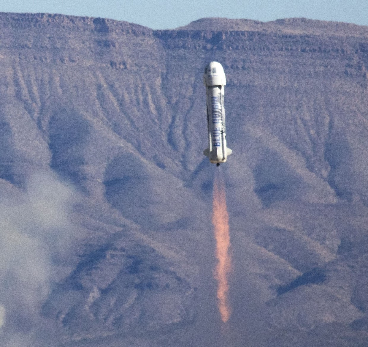 Liftoff of New Shepard
