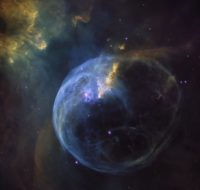 Bubble Nebula by Hubble