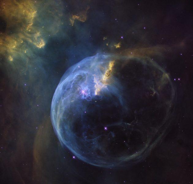 Bubble Nebula by Hubble