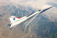 QueSST supersonic X-plane concept