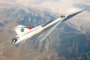 QueSST supersonic X-plane concept