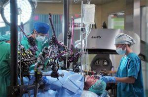 Image: Raven 4 robot surgery