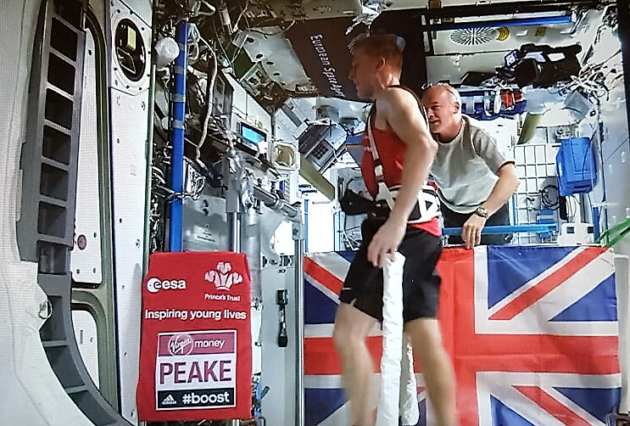 Tim Peake marathon