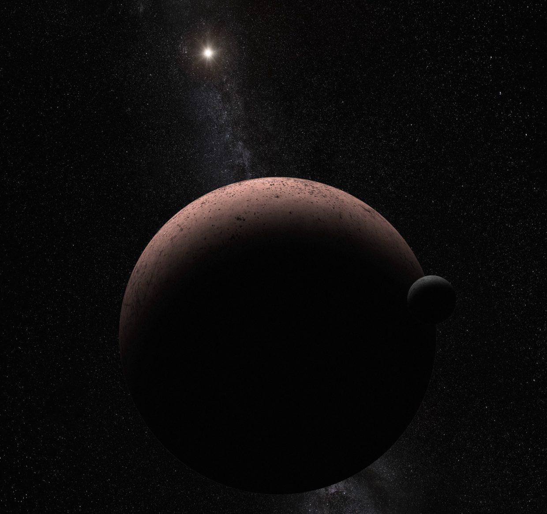 Hubble Spots Moon Around Dwarf Planet Makemake Geekwire