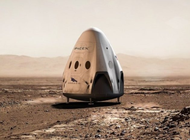 SpaceX could send Red Dragon to Mars in 2018