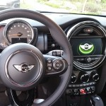 Inside the 4-door MINI Cooper