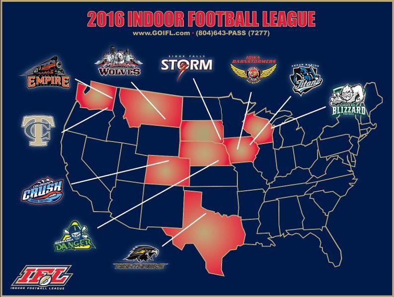 Nfl football teams map