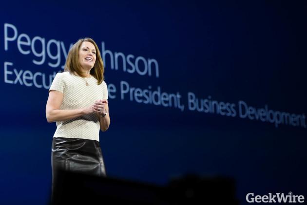 Microsoft executive Peggy Johnson