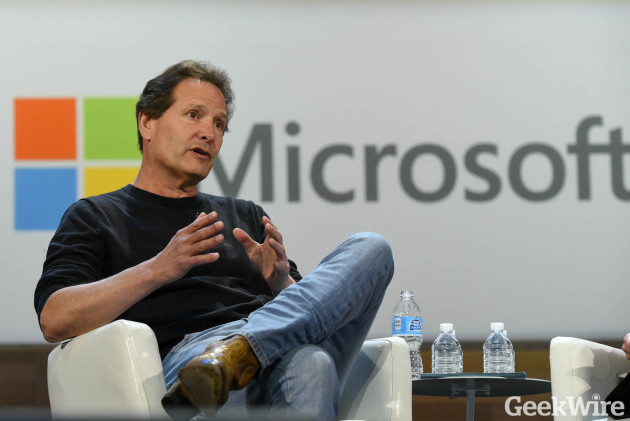PayPal CEO Dan Schulman speaks on stage at Microsoft Envision in New Orleans on Monday.