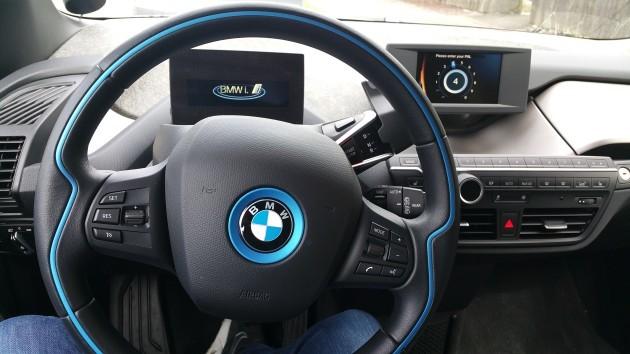 Inside the i3.