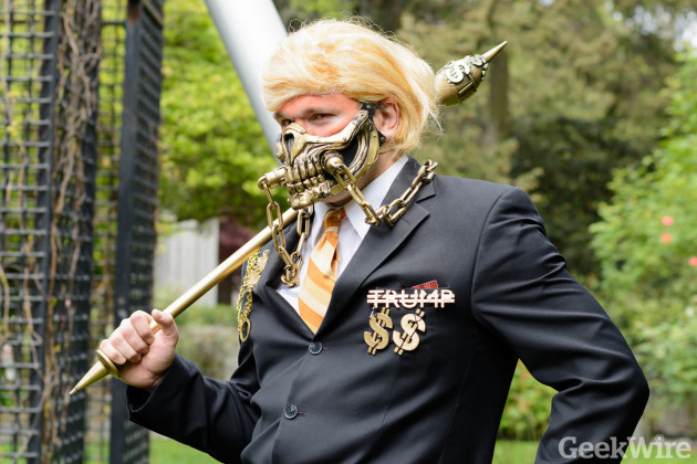Immortan Trump at the Emerald City Comicon. (Photo by Kevin Lisota)