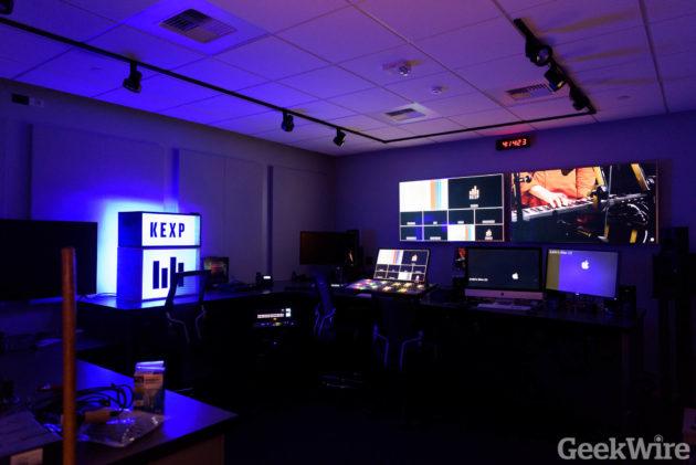 KEXP Studio Tour