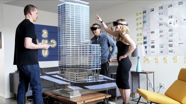 Second Use Seattle >> Seattle high-rise to use Microsoft HoloLens for 'world's first holographic leasing center ...