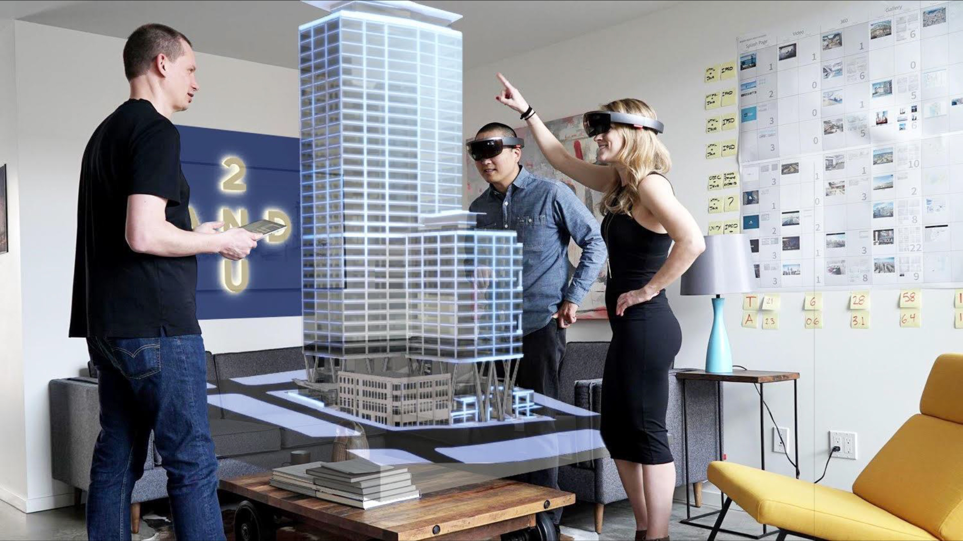 seattle high rise to use microsoft hololens for 39 world 39 s first holographic leasing center. Black Bedroom Furniture Sets. Home Design Ideas