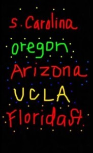Five colleges participated in Nordstrom's Snapchat challenge.