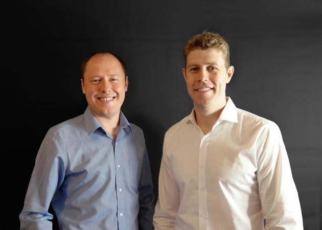 Deako co-founders Alexander Strunkin and Derek Richardson. Photo via Deako.