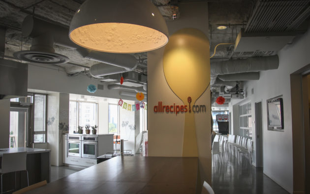 Allrecipes Seattle office. (Photos via Allrecipes).