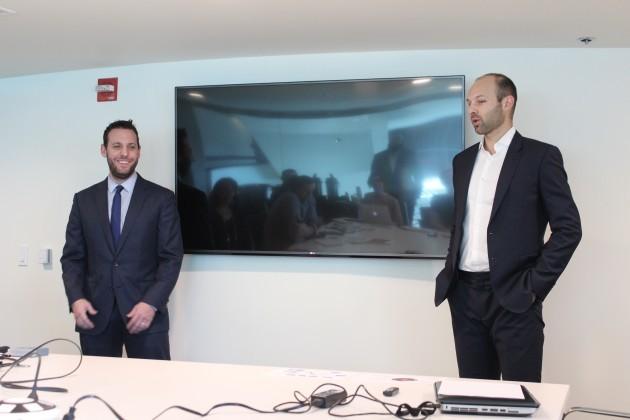 Dewayne Hankins, senior vice president of brand strategy & digital, and Vincent Ircandia, senior vice president of business operations.