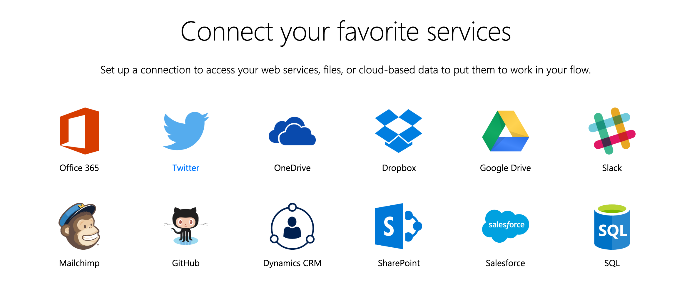 Microsoft flow services