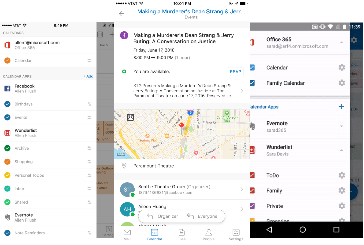 Microsoft launches Calendar Apps in Outlook for iOS and Android as
