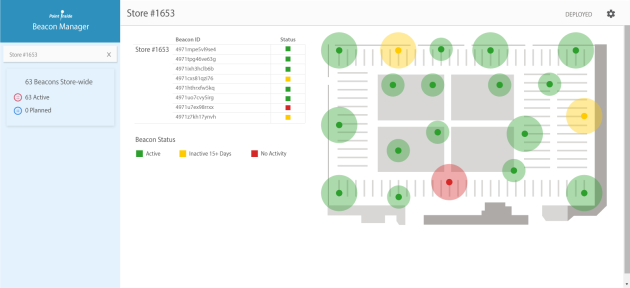 Beacon Planner lets stores choose the best places to put in-store beacons.
