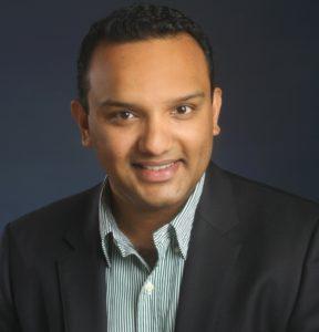 Keepe CEO Rishi Mathew.
