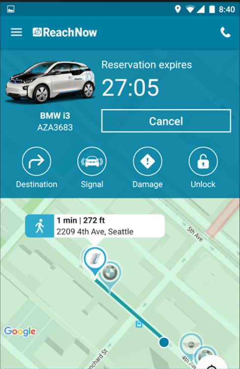 Bmw S Car Sharing Service Reachnow Expanding To Portland After