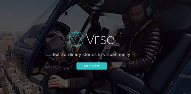 vrse website screenshot
