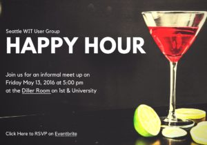 Seattle WIT UG- Happy Hour May 13, 2016