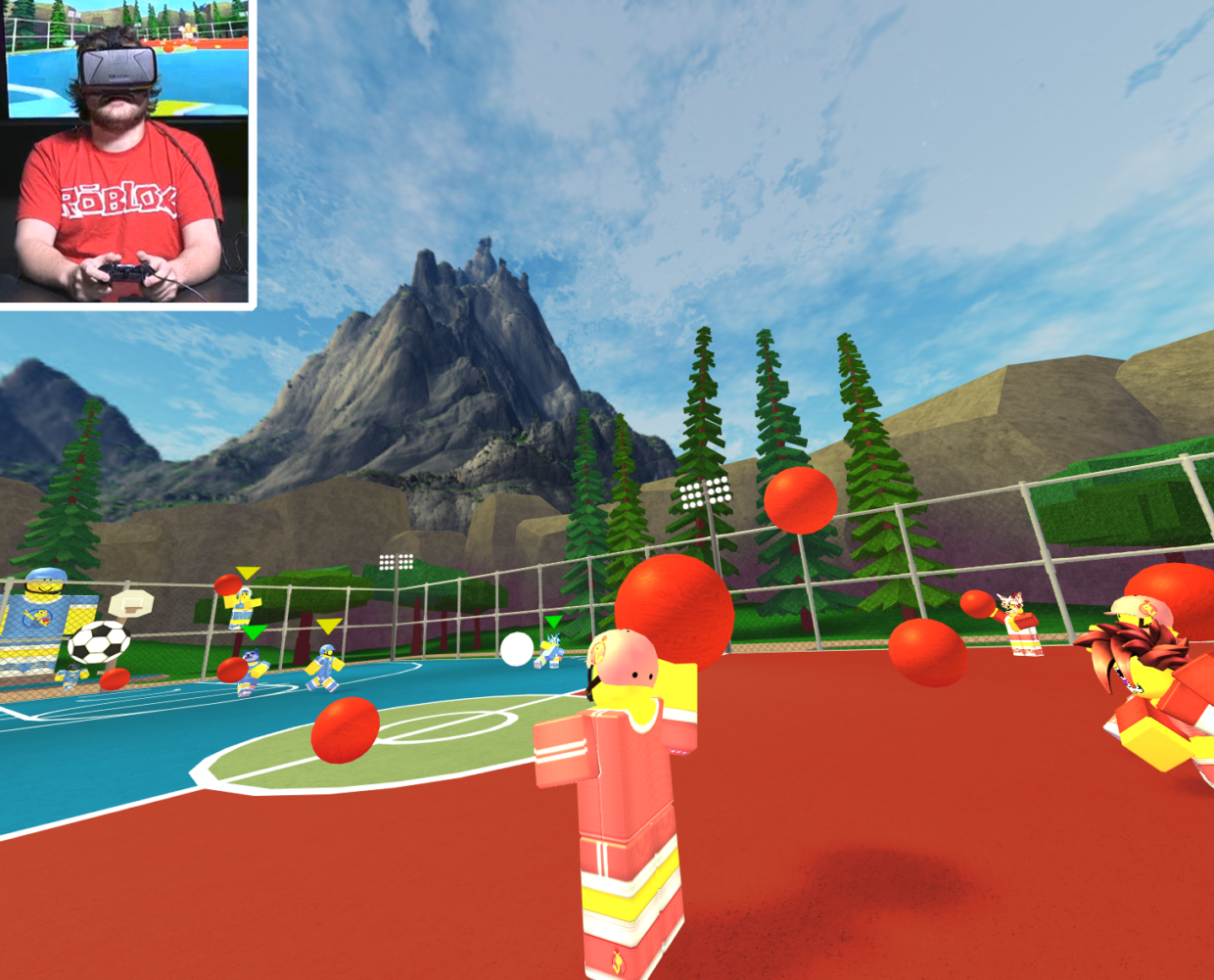 Roblox launches on Oculus Rift bringing user generated social