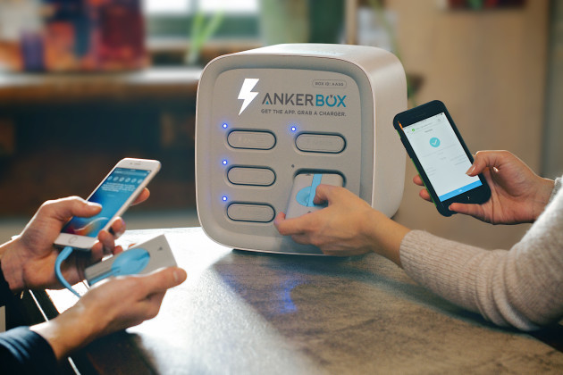 Ankerbox Bringing Rentable Device Chargers To Hundreds Of