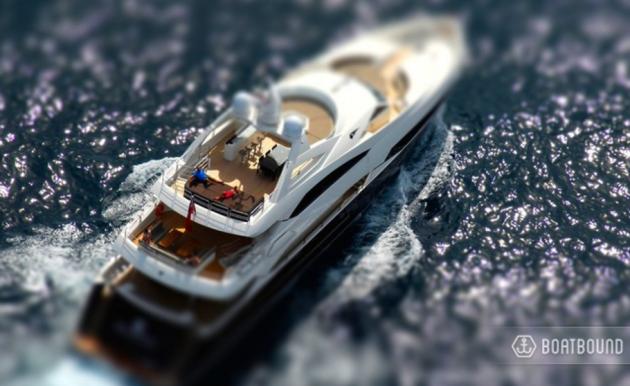 Boatbound mini yacht