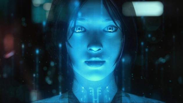 Nude women painted like cortana