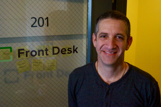 Jon Zimmerman at the company's Seattle headquarters in February 2016. (GeekWire File Photo)